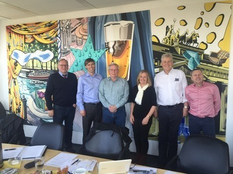 Teilnehmer des CMA-E Board-Meetings bei e*Message Deutschland im April 2015.