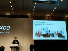 Volker Berlin, e*Message zum Thema Anforderungen an ein Mobilfunknetz für professionelle Nutzer und dessen Betrieb