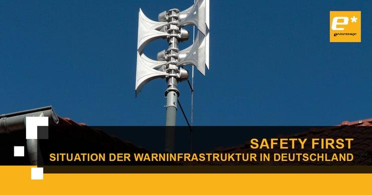 Katastrophenwarnung in Deutschland: Lessons Learned