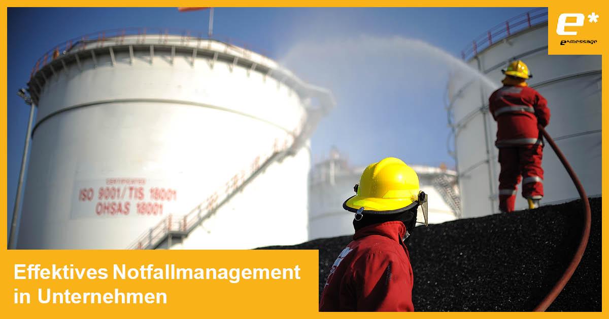 Notfallmanagement in Unternehmen – optimal vorbereitet sein