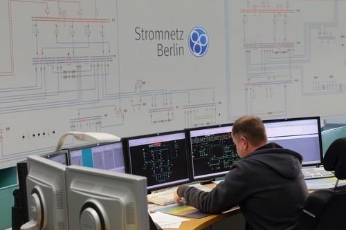 Leitstelle der Stromnetz Berlin GmbH